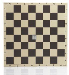 48 x 48 Scacchiera pieghevole da torneo in cartone plastificato 705NP