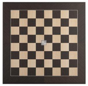 Big Tournament Chessboard Wengé/Maple