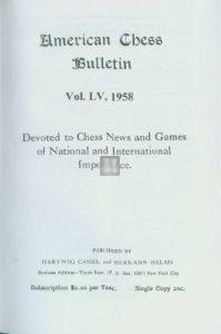 American chess bulletin - 59 volumes
