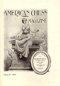 American Chess Magazine vol.3: July 1899 - December 1899 - 2a mano