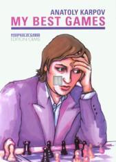 Anatoly Karpov - My best games - 2nd hand like new rare book