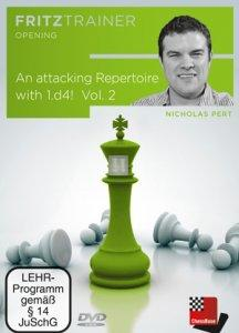 Attacking Repertoire with 1.d4! Vol. 2 - DVD