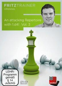 Attacking Repertoire with 1.d4! Vol. 3 - DVD