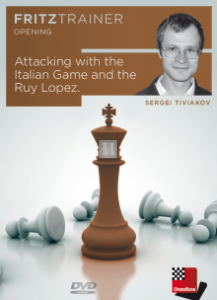 Attacking with the Italian Game and the Ruy Lopez - DVD