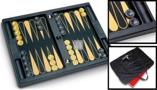 Backgammon T-BOARD Tournament (nero/oro)