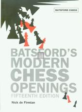 Batsford's Modern Chess Openings - 15th edition
