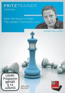 Beat the Queen's Indian: The modern Fianchetto Line - DVD