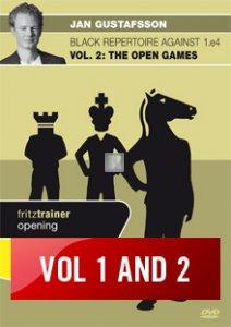 Black Repertoire against 1.e4 Vol. 1 and 2: Marshall Attack and Open Games - 2 DVD