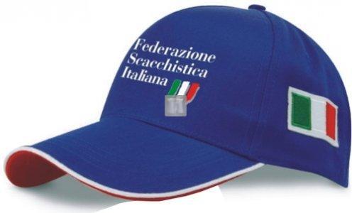 Cappellino Federazione Scacchistica Italiana