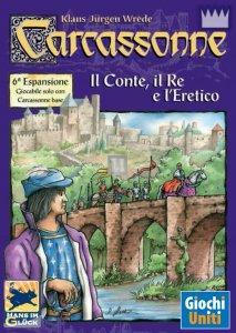 Carcassonne - il conte, il re e l'eretico (Espansione)