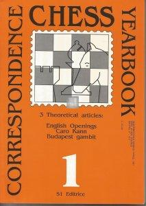 Correspondence Chess Yearbook all 15 issues  2nd hand