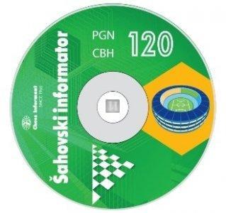 Chess Informant 120 - Maracana - CD-ROM