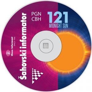 Chess Informant 121 Midnight Sun - CD-ROM