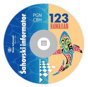 Chess Informant 123 HAWAIIAN - CD-ROM