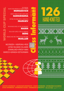 Chess Informant 126 - Hand-Knitted
