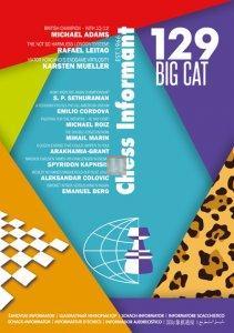 Chess Informant 129 - Big Cat - BOOK+CD