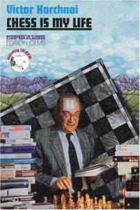 Chess is my Life Viktor Korchnoi- 2nd hand like new unread