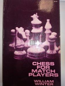 Chess for match players - William Winter - 2nd hand