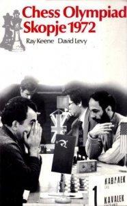 Chess olympiad Skopje 1972 - Keene Levy - 2nd hand