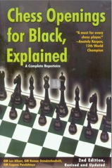 Chess Openings for Black, Explained - 2nd Revised and Updated Edition