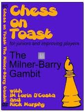Chess on Toast French opening The Milner-Barry Gambit - DVD - 2nd hand