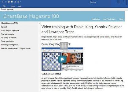 ChessBase Magazine 188 - DVD