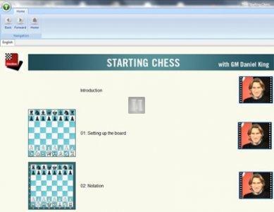 ChessBase Tutorials Starting Chess - DVD