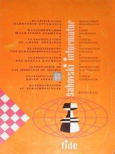 Classification Chess openings chess informator- 2nd hand