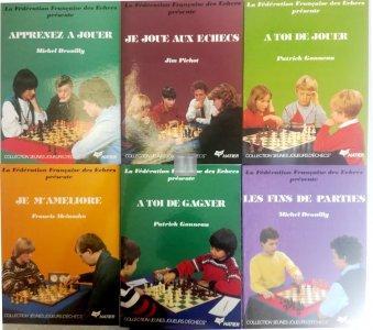 """Collection """"jeunes joueurs d'echecs"""" 6 voll. - 2nd hand"""
