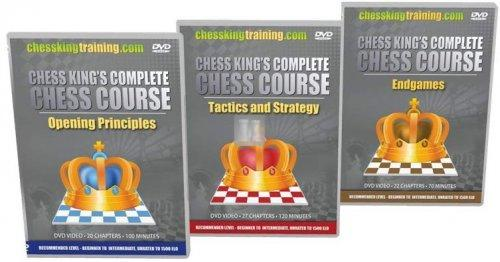 Chess King's Complete Chess Course 3 DVD Set