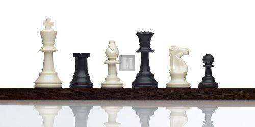 Completo scacchi piombati + scacchiera da torneo (bianco/verde) con borsa