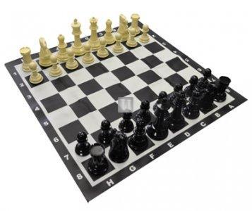 Completo scacchi+scacchiera  - Re cm 20