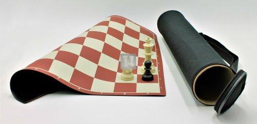 Completo scacchi + scacchiera da torneo con borsa