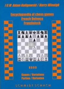 Encyclopaedia of chess games - French defence Kuligovski/WiengkSchmidt Schach - 2nd hand