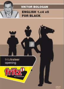 English 1.c4 e5 for Black - DVD