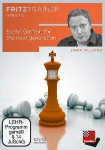 Evans Gambit for the new generation - DVD