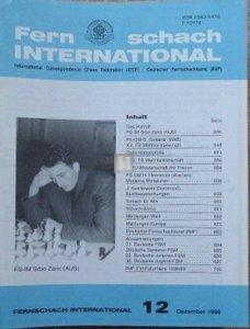 @Fernschach international Jahrgang komplett 1998/1999/2000/2001/2002 Nr. 1 bis 12 - 2nd hand