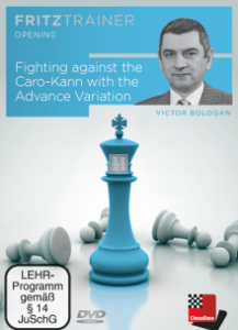 Fighting against the Caro-Kann with the Advance Variation - DVD