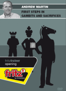 First Steps in Gambits and Sacrifices - DVD