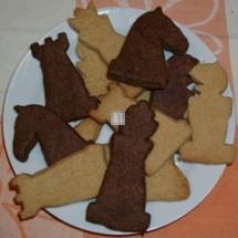 Forme per pasta e biscotti scacchistici