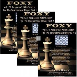 Foxy Chess Openings, 172-174: Kasparov's Killer Scotch for the Tournament Player (3 DVDs)