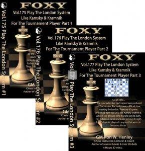 Foxy Chess Openings, 175-177: Play The London System Like Kamsky and Kramnik (3 DVDs)