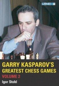 Garry Kasparov's Greatest Chess Games Volume 2 - 2nd hand like new
