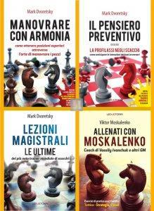 Gli ultimi tre libri di Mark Dvoretsky + Allenati con Moskalenko - 4 LIBRI