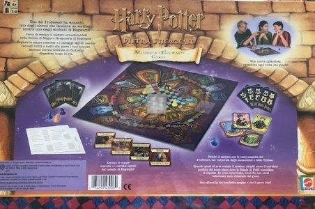Harry Potter e la Pietra Filosofale. Mistero ad Hogwarts - Gioco da tavolo in italiano
