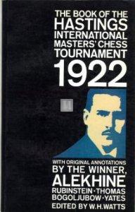 The Book of the Hastings International Master's Chess Tournament 1922 - Watts - 2nd hand