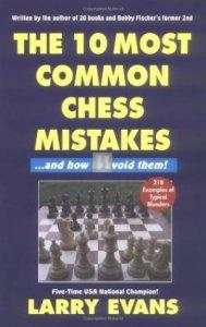 The most common chess mistakes Larry Evans 2nd hand