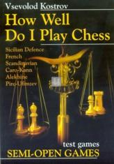 How well do i play chess - test games Semi-Open Games - 2nd hand