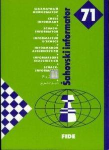 Chess informator - informatore scacchistico 71 - 2nd hand rare
