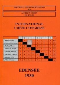 International Chess Congress Ebensee 1930